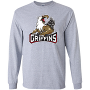 Grand Rapids Griffins Primary Logo Adult Long Sleeve T Shirt