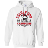 Charlotte Checkers 2019 Calder Cup Champions Adult Arch Pullover Hoodie