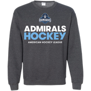 Milwaukee Admirals Hockey Logo Adult Crewneck Pullover