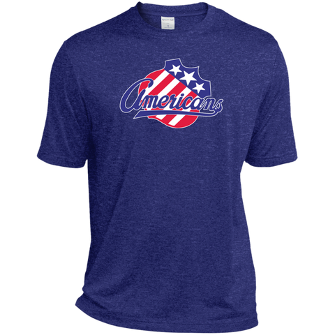 Rochester Americans Adult Heather Dri-Fit Moisture-Wicking T-Shirt (sidewalk sale)