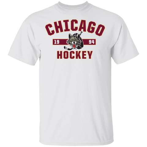 Chicago Wolves Adult Established Short Sleeve T-Shirt