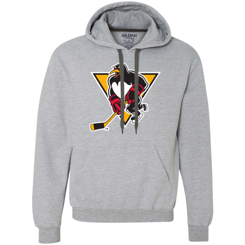 Wilkes-Barre/Scranton Penguins Primary Logo Heavyweight Pullover Fleece Sweatshirt