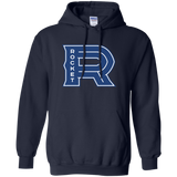Laval Rocket Primary Logo Adult Pullover Hoodie