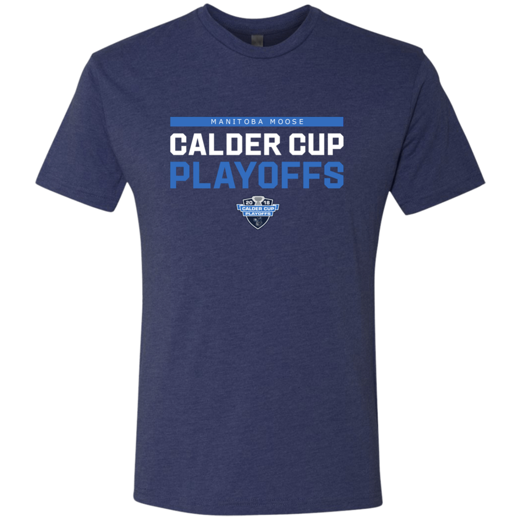 Manitoba Moose 2018 Postseason Next Level Men's Triblend T-Shirt