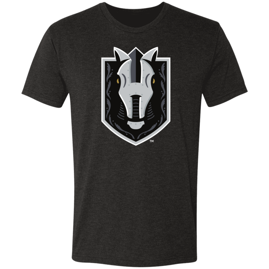Henderson Silver Knights Next Level Men's Primary Logo Triblend T-Shirt