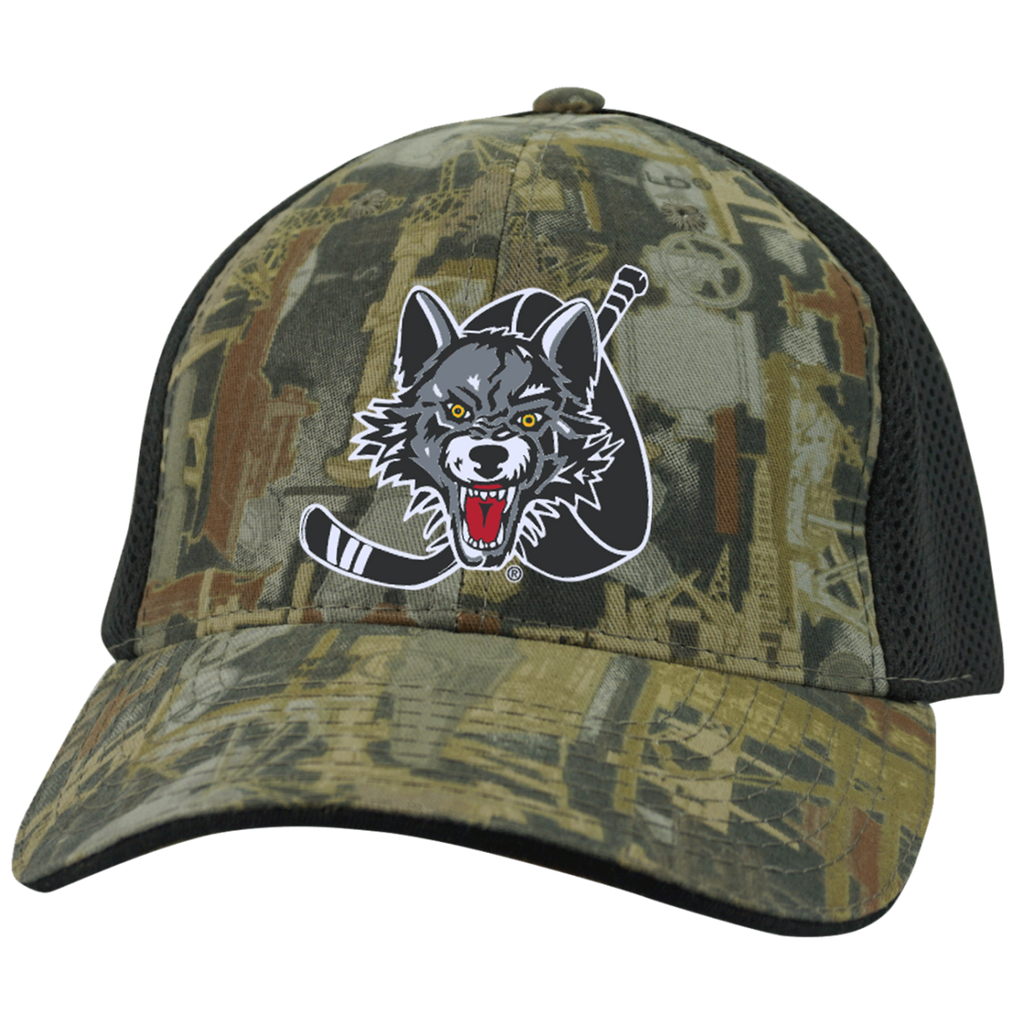 Chicago Wolves Camo Cap with Mesh