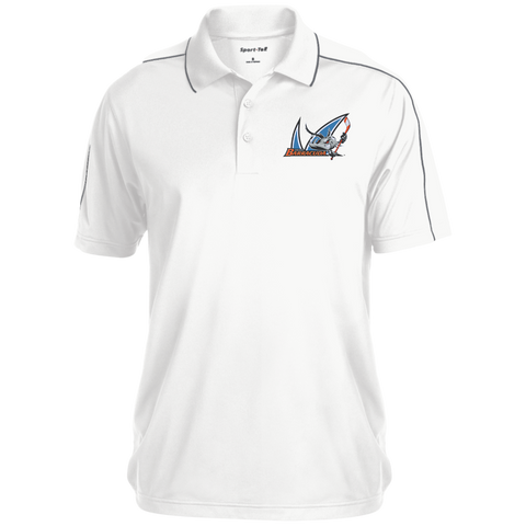 San Jose Barracuda Micropique Sport-Wick Piped Polo