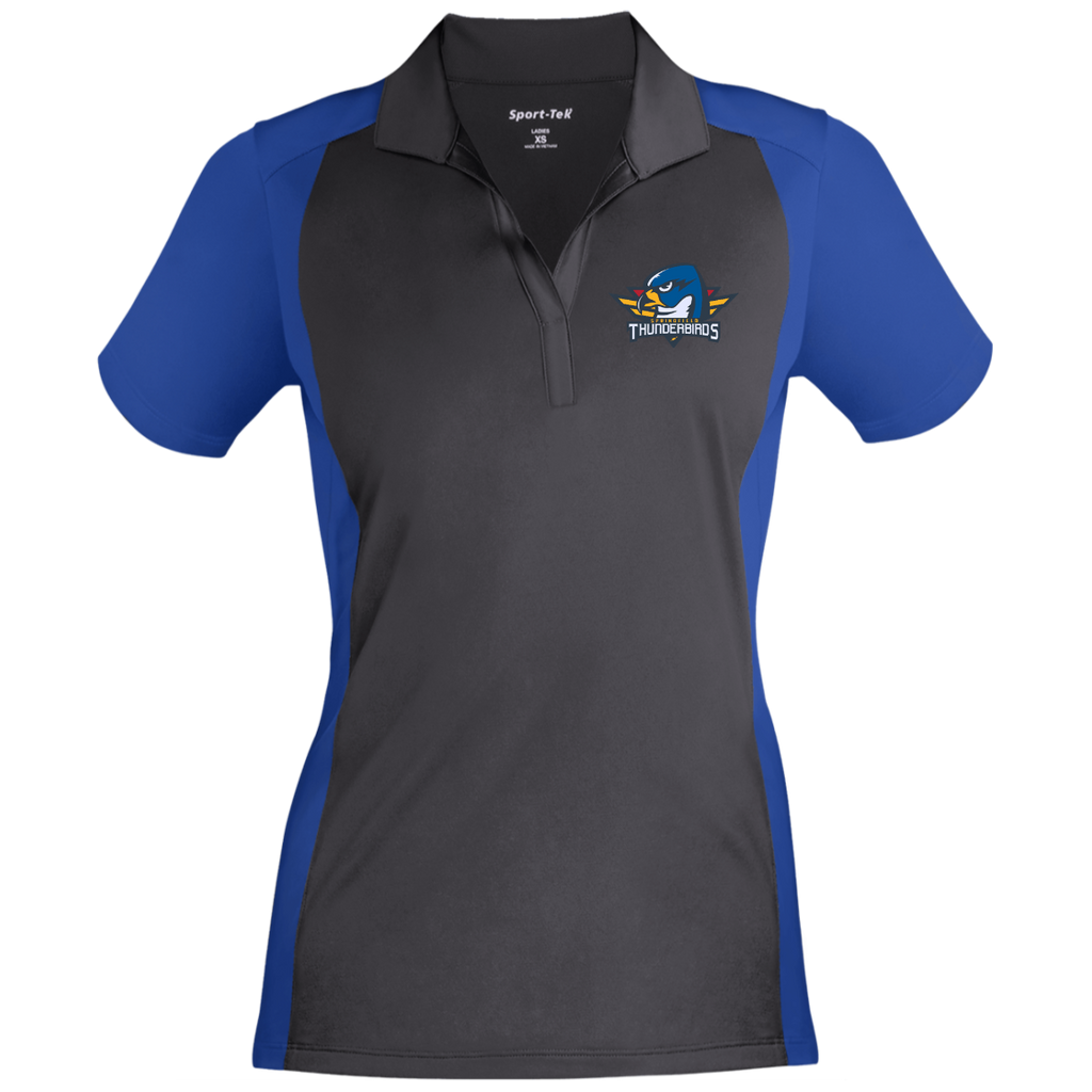 Springfield Thunderbirds Ladies' Colorblock Sport-Wick Polo