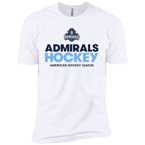 Milwaukee Admirals Hockey Next Level Premium Short Sleeve T-Shirt