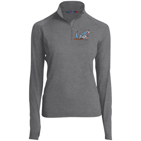 San Jose Barracuda Women's Half Zip Performance Pullover