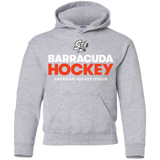 San Jose Barracuda Hockey Primary Logo Youth Pullover Hoodie
