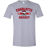 Charlotte Checkers Adult Established Softstyle T-Shirt