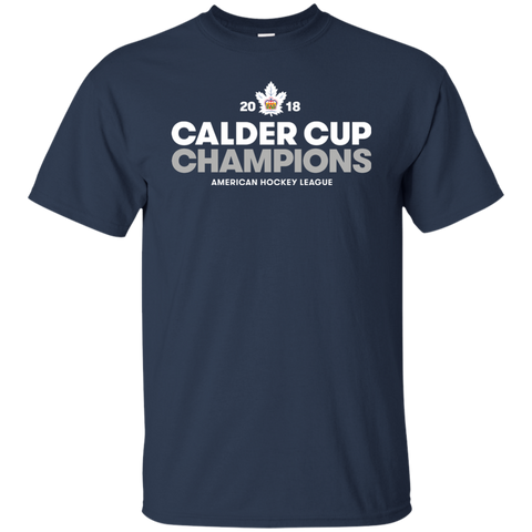 Toronto Marlies 2018 Calder Cup Champions Crown Youth Ultra Cotton T-Shirt