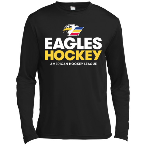 Colorado Eagles Hockey Long Sleeve Moisture Absorbing T-Shirt