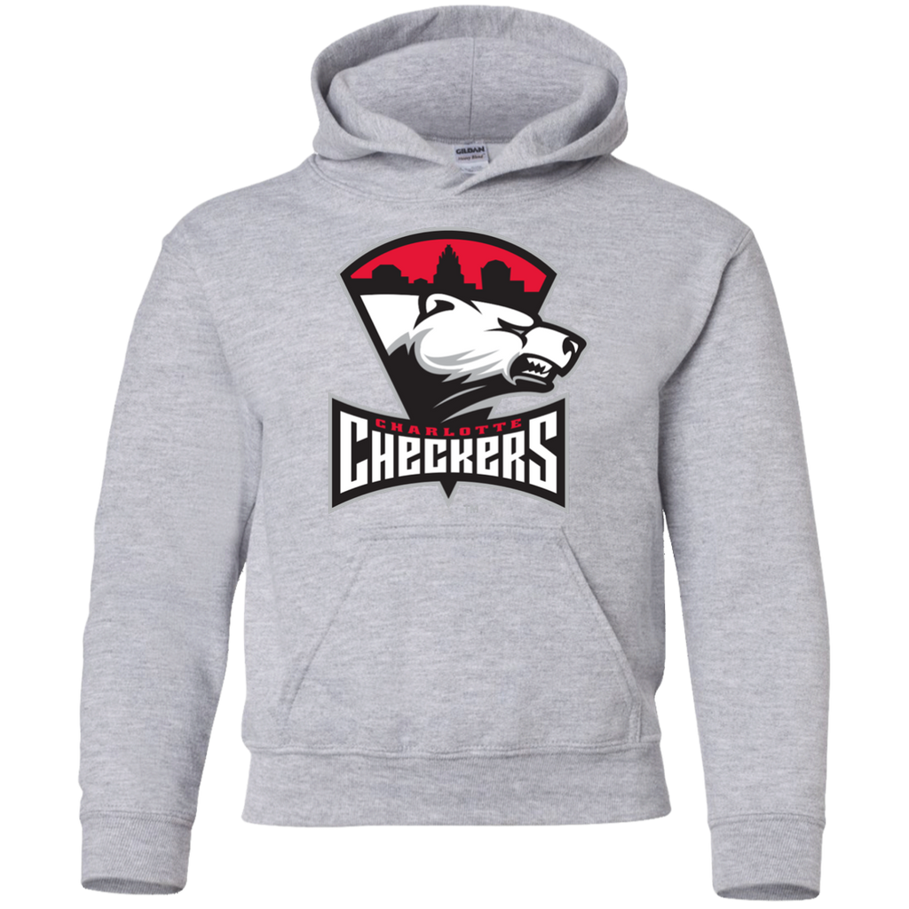 Charlotte Checkers Youth Pullover Hoodie