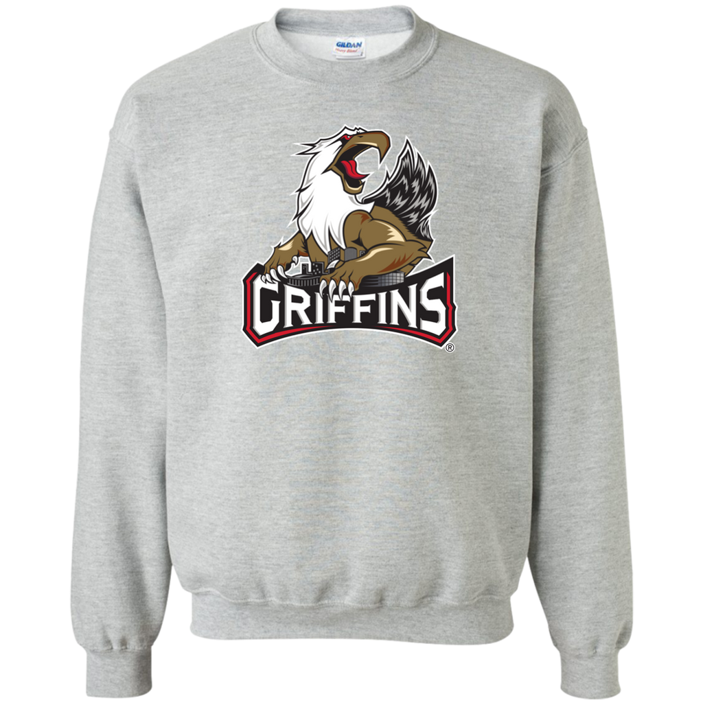 Grand Rapids Griffins Primary Logo Adult Crewneck Pullover Sweatshirt