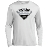 Ontario Reign Adult 2017 Calder Cup Playoffs Long Sleeve Moisture Absorbing Shirt