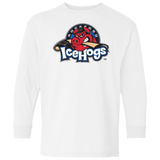 Rockford IceHogs Primary Logo Cotton Youth LS T-Shirt