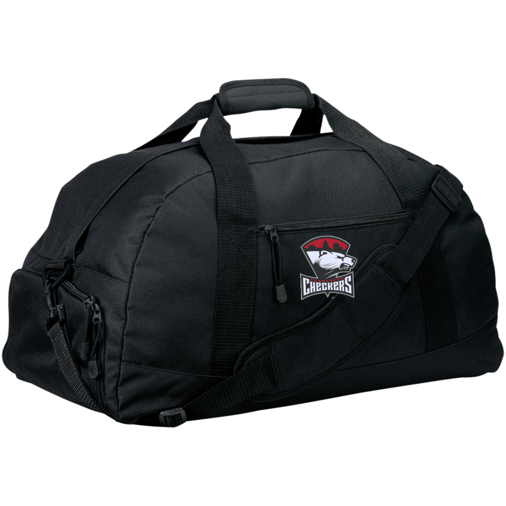 Charlotte Checkers Large-Sized Duffel Bag