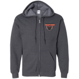 Lehigh Valley Phantoms Adult Embroidered Zip Up Hooded Sweatshirt