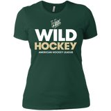 Iowa Wild Hockey Next Level Ladies' Short Sleeve T-Shirt