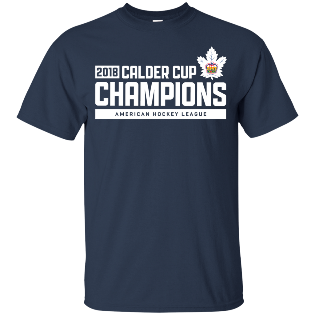 Toronto Marlies 2018 Calder Cup Champions Youth Raise the Bar T-Shirt