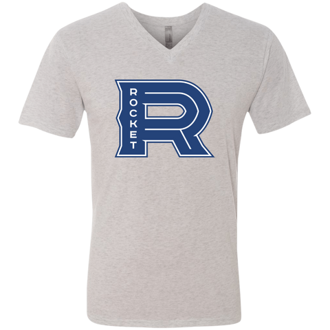 Laval Rocket Next Level Men's Triblend V-Neck T-Shirt