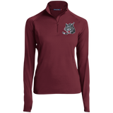 Chicago Wolves Women's Half Zip Performance Pullover