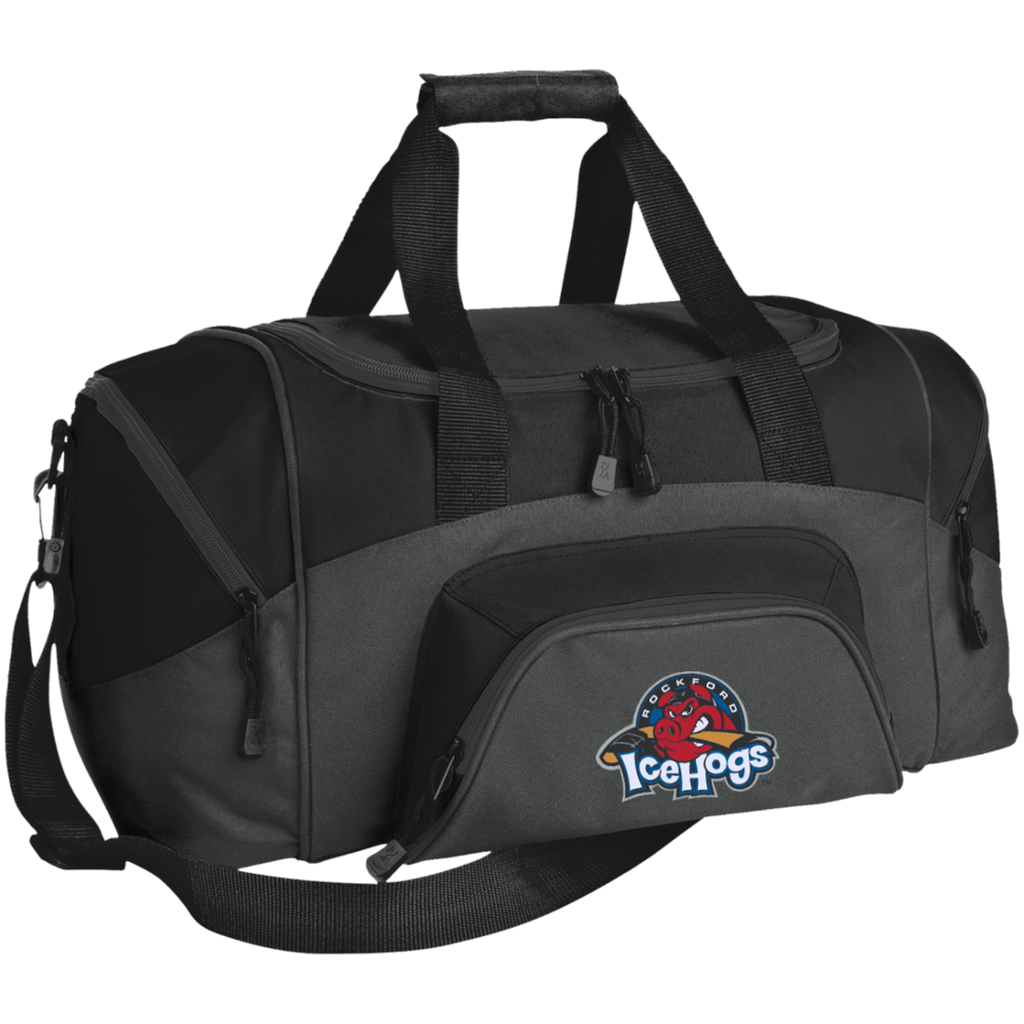 Rockford IceHogs Small Colorblock Sport Duffel Bag