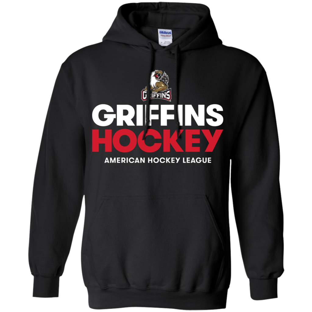 Grand Rapids Griffins Hockey Adult Pullover Hoodie