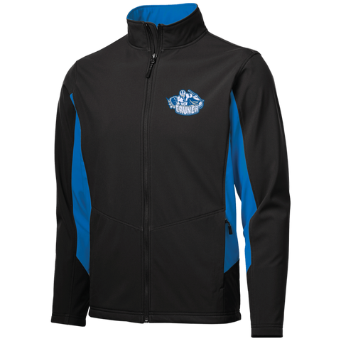 Syracuse Crunch Colorblock Soft Shell Jacket