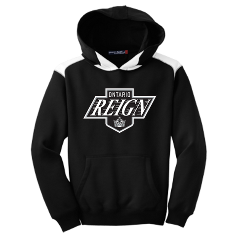 Ontario Reign Youth Colorblock Pullover Hoodie