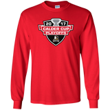 Grand Rapids Griffins Adult 2017 Calder Cup Playoffs Long Sleeve T-Shirt