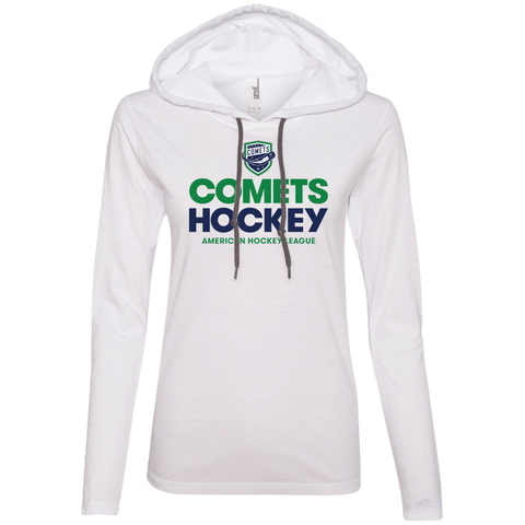 Utica Comets Hockey Ladies' Long Sleeve T-Shirt Hoodie