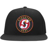 Stockton Heat Flat Bill Twill Flexfit Cap