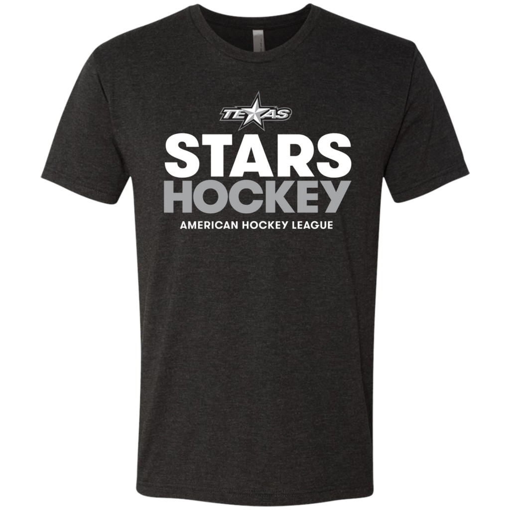 Texas Stars Hockey Next Level Men's Triblend T-Shirt