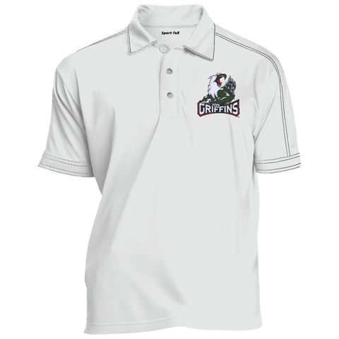 Grand Rapids Griffins Adult Contrast Stitch Performance Polo