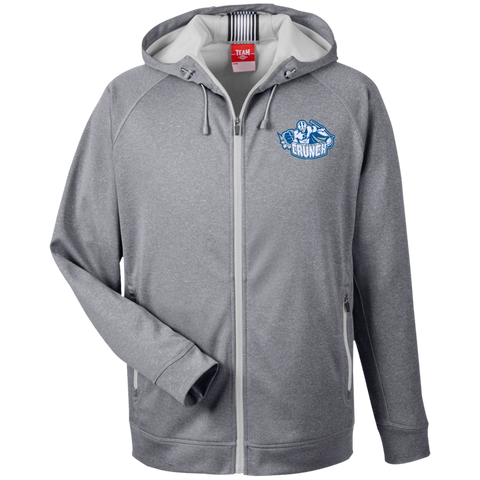 Syracuse Crunch Team 365 Men's Heathered Performance Hooded Jacket
