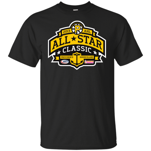 2013 AHL All-Star Classic Adult Primary Logo Short Sleeve T-Shirt