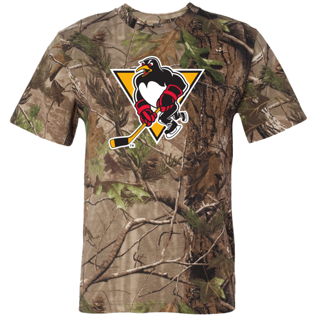 Wilkes-Barre/Scranton Penguins Adult Short Sleeve Camouflage T-Shirt