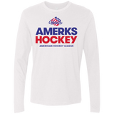 Rochester Americans Hockey Adult Next Level Men's Premium Long Sleeve Shirt