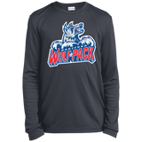 Hartford Wolf Pack Youth Long Sleeve Moisture-Wicking T-Shirt