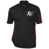 San Jose Performance Textured Three-Button Polo