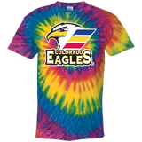Colorado Eagles Primary Logo Youth Tie Dye T-Shirt