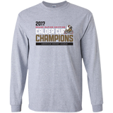Grand Rapids Griffins 2017 Calder Cup Champions Adult Athletic Long Sleeve T-Shirt