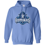 Milwaukee Admirals Primary Logo Adult Pullover Hoodie