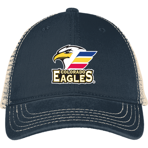 Colorado Eagles Mesh Back Cap