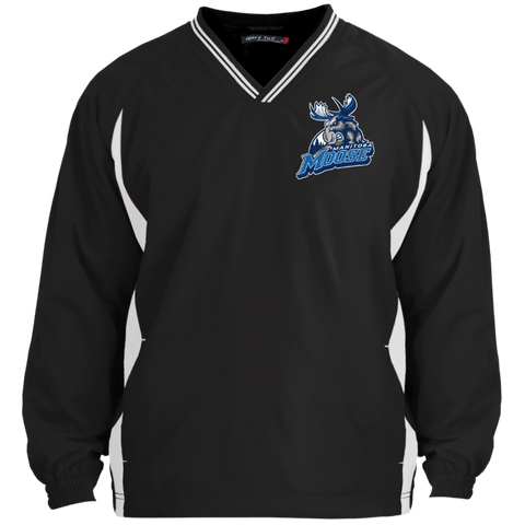 Manitoba Moose Tipped V-Neck Windshirt