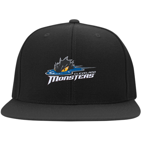 Cleveland Monsters Flat Bill High-Profile Snapback Hat
