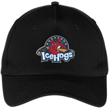 Rockford IceHogs. Five Panel Twill Cap